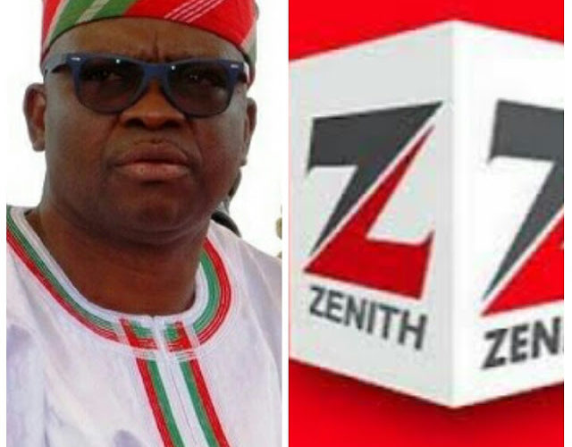 Zenith Bank Funded My Campaign – Fayose