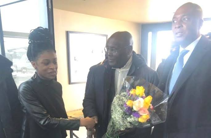 Atiku to meet Nigerian business community in U.S.