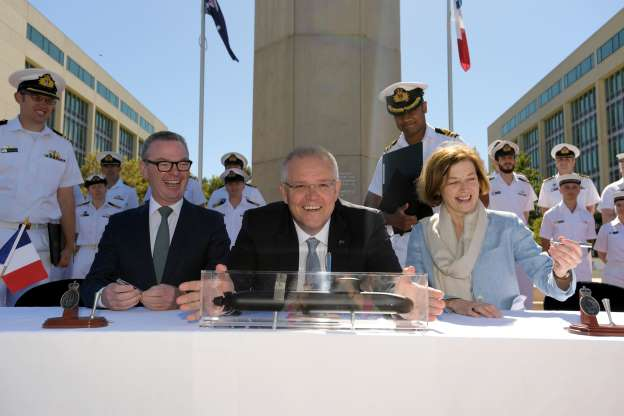 Australia-France submarine deal