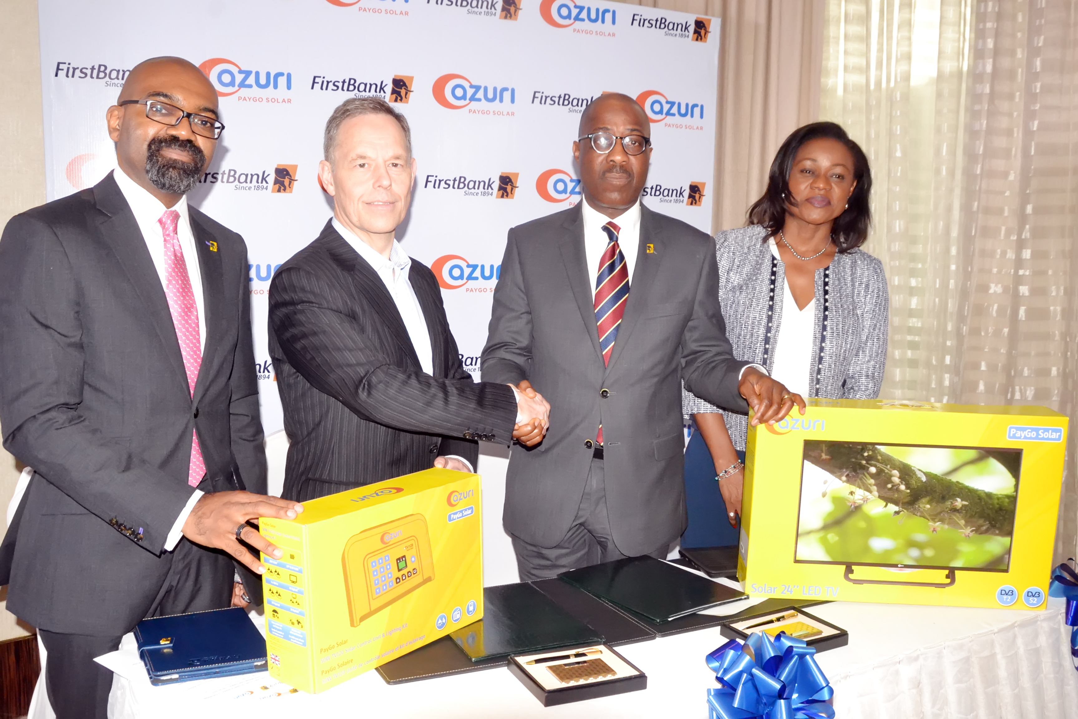 FirstBank Partners Azuri Technology to Promote Sustainable Development in Nigeria