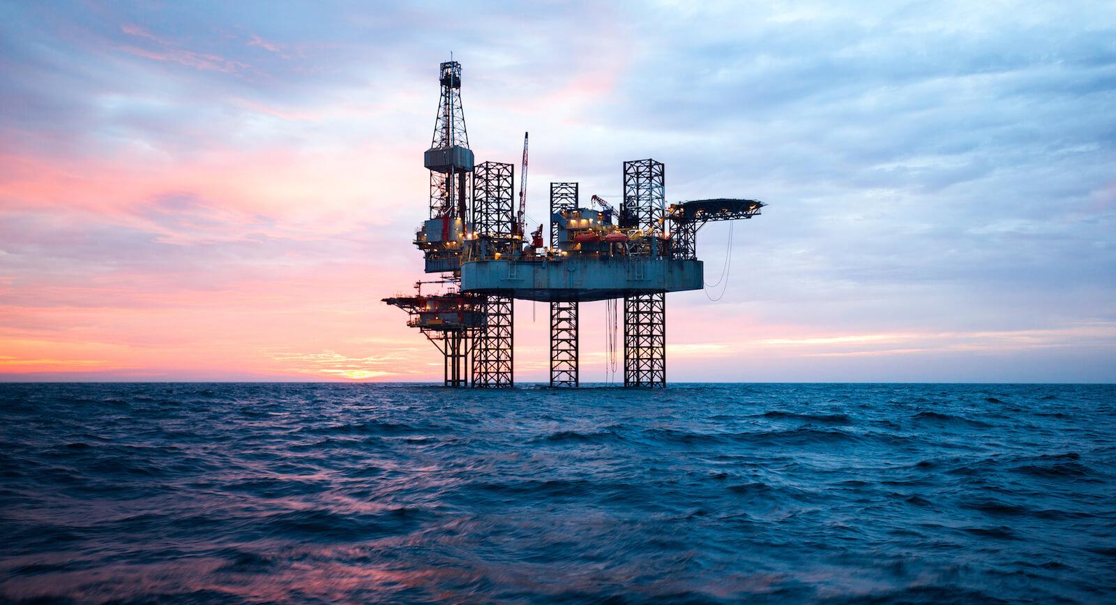 Angola Oil Rig