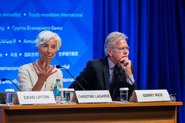 Christine Lagarde, Gerry Rice