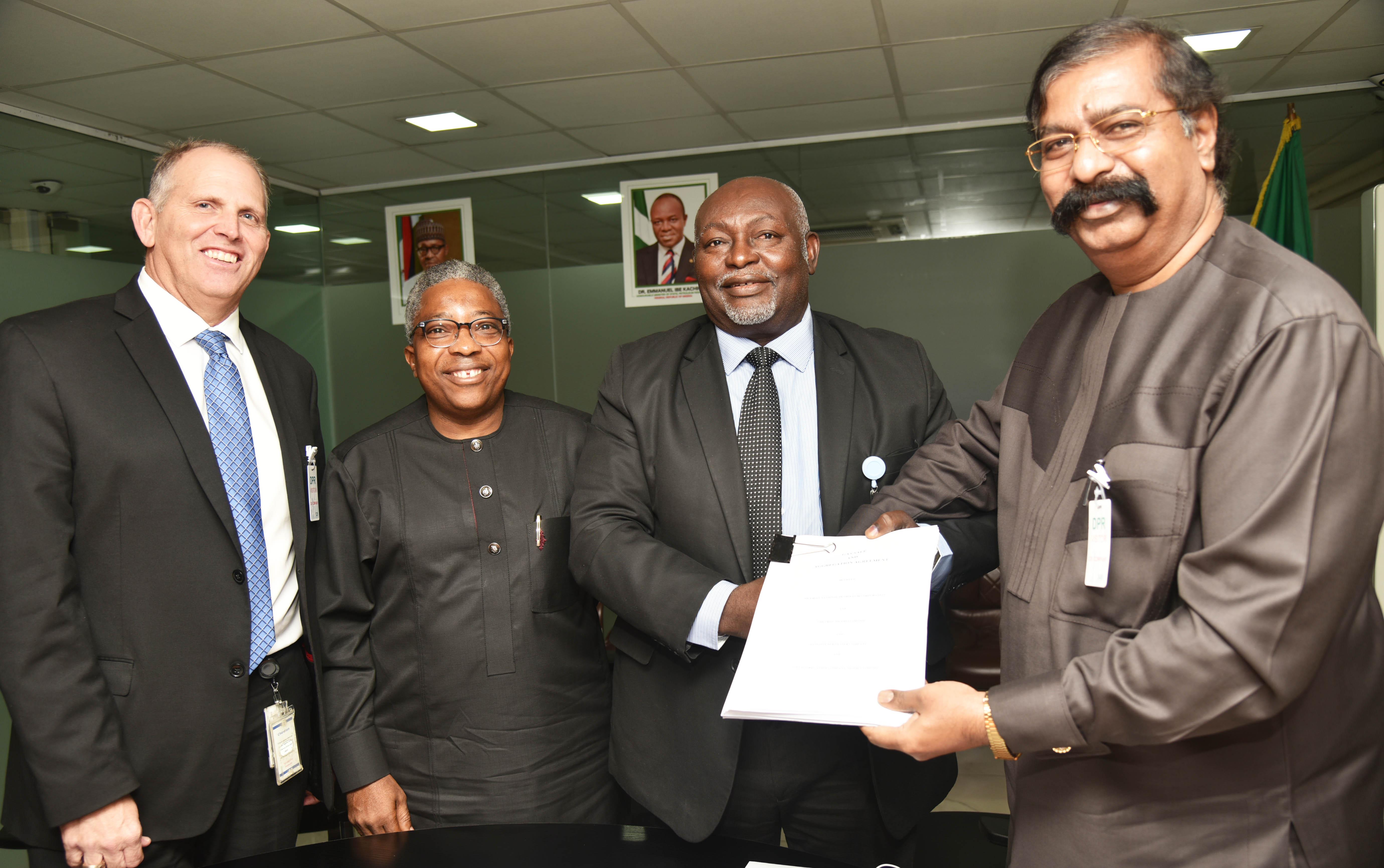 Dangote, Chevron Nigeria sign historic Agreement on Gas Supply
