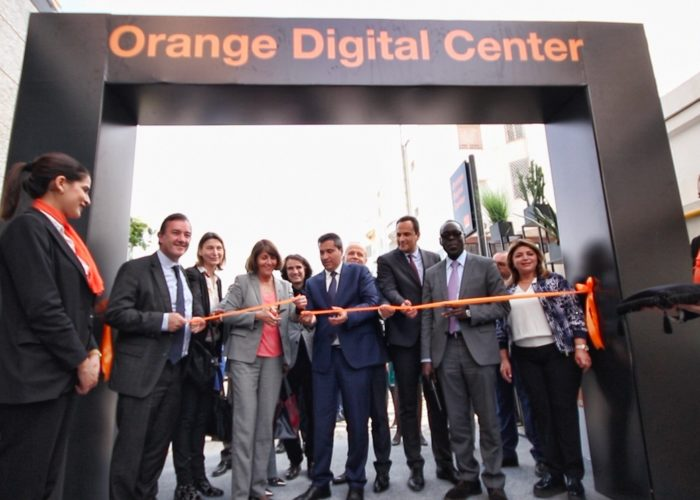 """Orange, a key player engaged in the digital transformation in Africa and the Middle East, launches its first """"Orange Digital Centre"""" in Tunisia"""