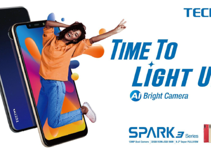 TECNO Launches Upgraded SPARK 3 Series with AI Bright Camera