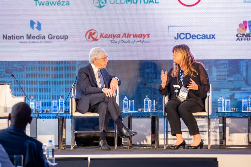 Mark Kramer & Maria Cristina Papetti - 2019 Africa Shared Value Summit