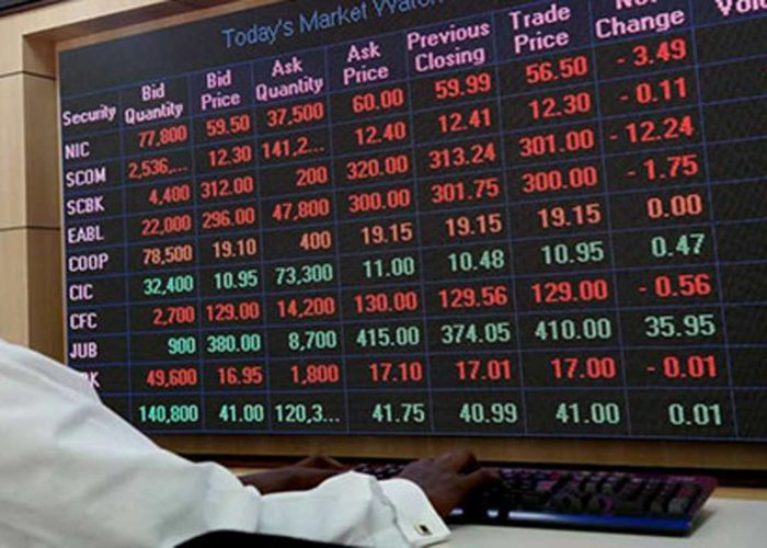 NSE market indices resume trading with 0.14% on Monday