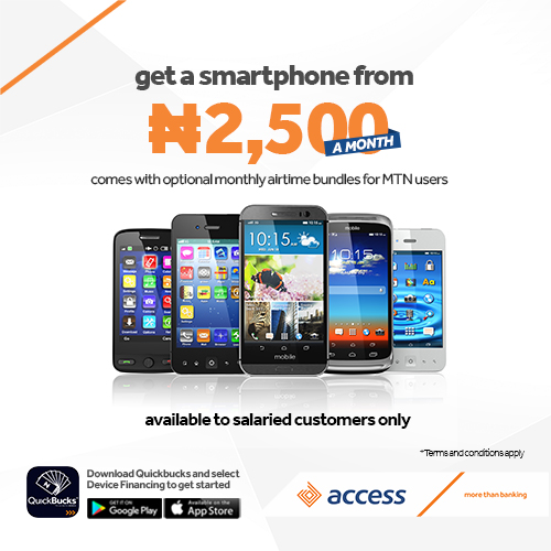 Access Bank device-finance-Blog Header